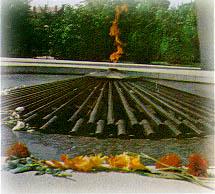Вечный Огонь в г.Ростов-на-Дону павщим защитникам города