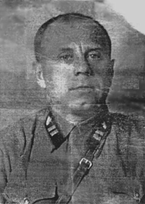 Майор Кучеренко Борис Максимович