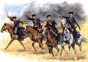 Кавалеристы в бою