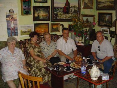 Светлана Борисовна в гостях у А. Павленко